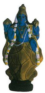 亀(クールマ)の化身像