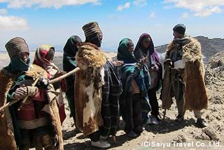 ラスダシャン山頂で出会った子どもたち