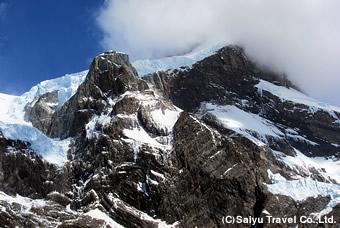 パイネ・グランデの氷河