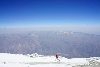 頂上付近からの風景