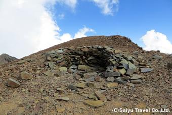 風化してしまったピルカ・デル・インカ遺跡
