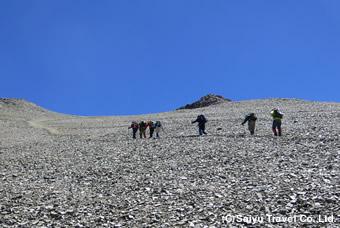 山頂までもうすぐ