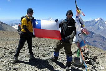 エルプロモ峰(5,430m)登頂