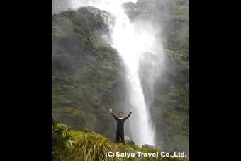 ササ―ランドの滝