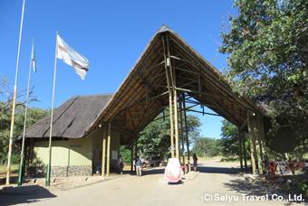 チョベ国立公園入り口