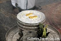 シヴァの足跡の祭壇