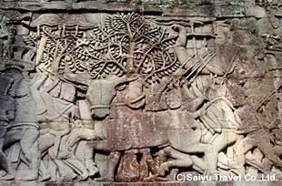 生贄の水牛(バイヨン)