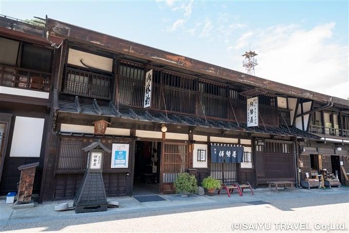 奈良井宿、御宿 伊勢屋