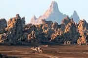 ジブチからダナキル砂漠へ アファール・トライアングルを行く