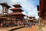 古都散策とチトワンサファリ ヒマラヤの懐ネパール満喫 9日間