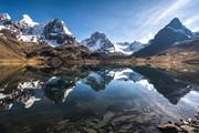 ボリビア・アンデスを歩く コンドリリ展望トレッキングと5,000m峰登頂、チチカカ湖ハイキング