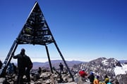 北アフリカ最高峰ツブカル山登頂とサハラ砂漠を望むオーベルジュ滞在