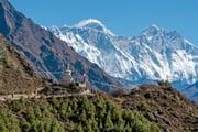 エベレスト街道パノラマビュートレッキング 名峰ひしめく好展望地を訪ねて