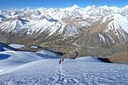 シムシャール・パミールトレッキングと6,000m峰登頂